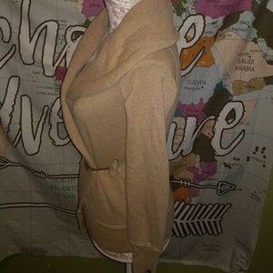 Ralph Lauren Sweaters - Stunning fitted ralph lauren taupe wrap sweater